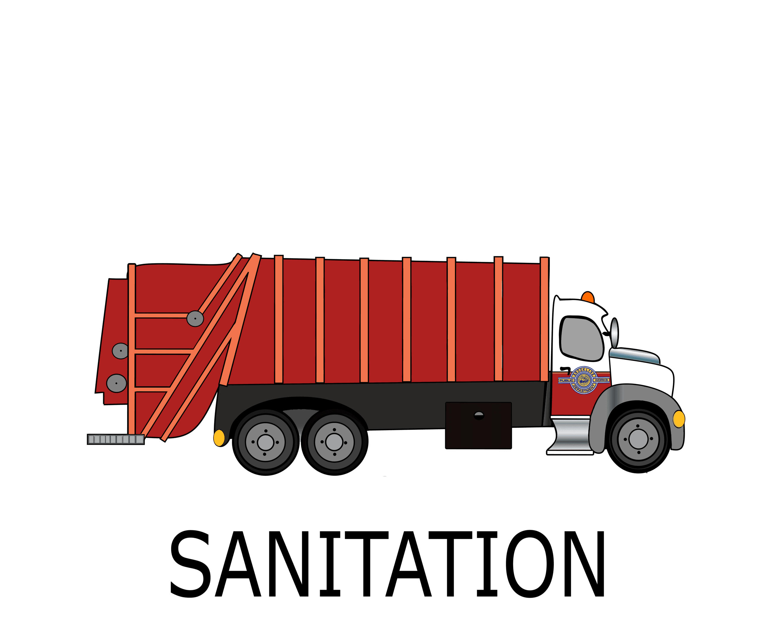 Sanitation Button