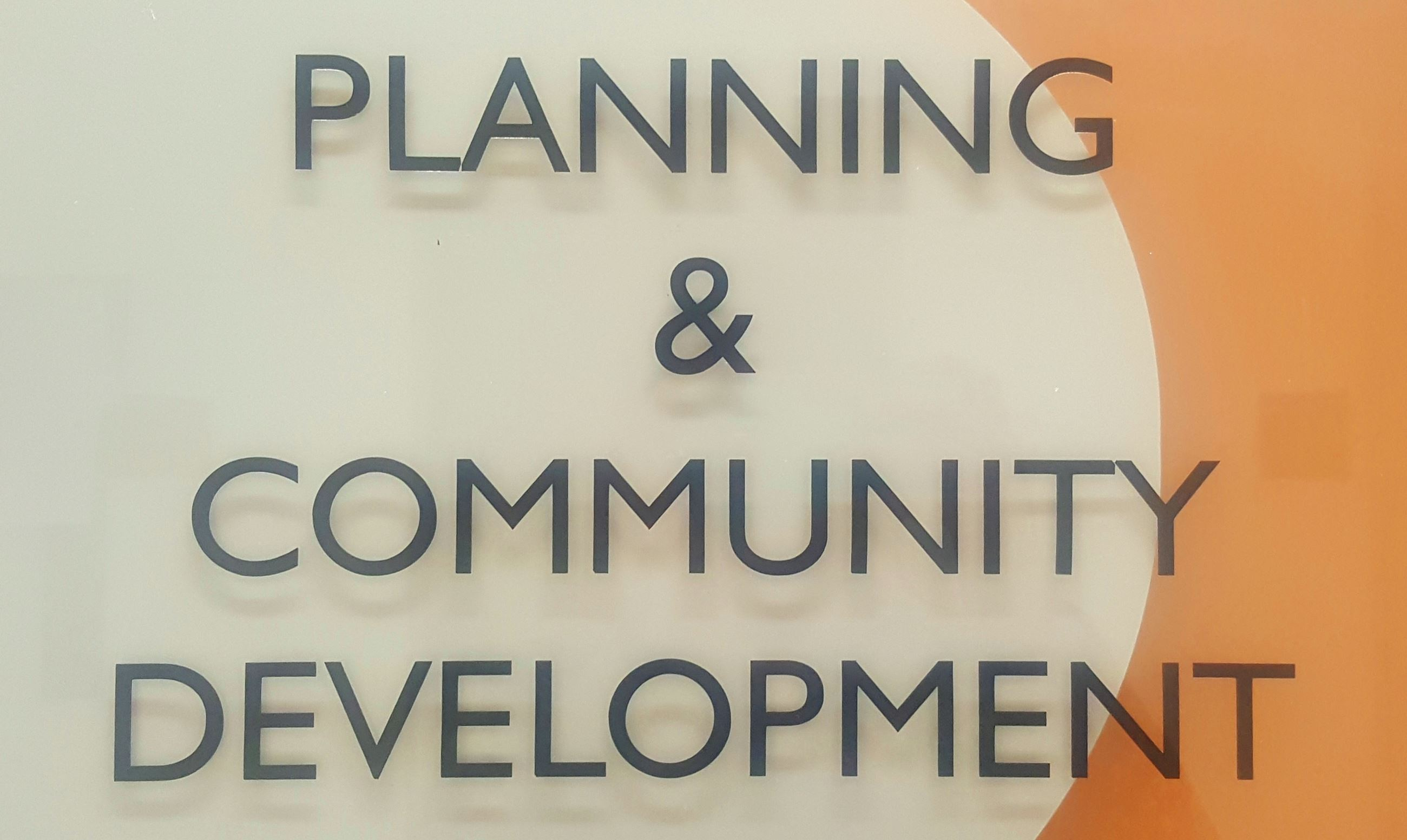 Planning and Community Development