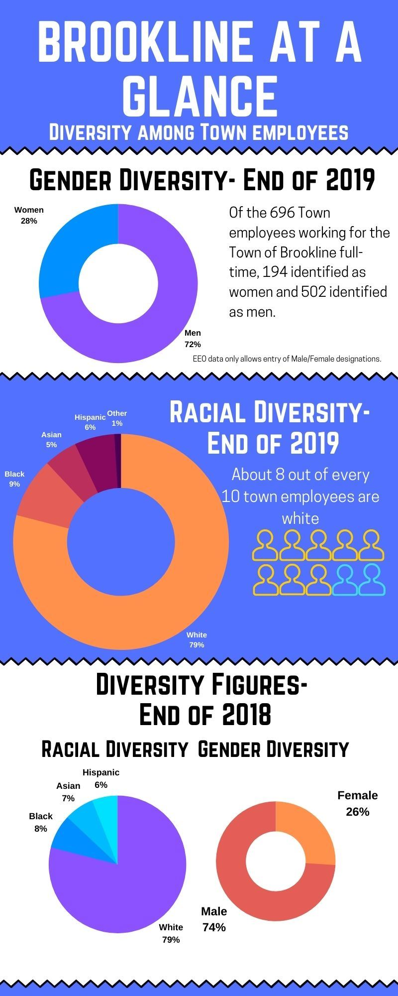 EEO Data Brookline 2019