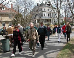 Participants of Brookline on the Move